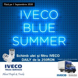 IVECO DAILY BLUE SUMMER